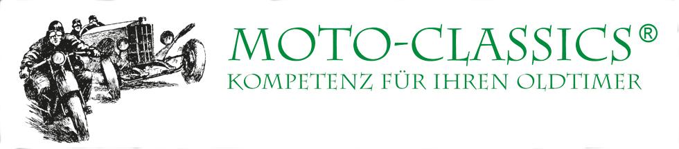 Moto-Classics - Kompetenz für Ihren Oldtimer-Logo